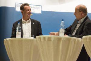 Bürgermeister Chrsitian Schönung, Kandidatenduel des BA in der