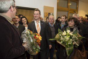 Wahlabend Bürgermeister Lorsch, Christian Schönung